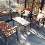Sitzgruppe-Laurel-Bench-Eisenguss-und-Holz-Gartenmöbel-03