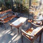 Sitzgruppe-Laurel-Bench-Eisenguss-und-Holz-Gartenmöbel-04