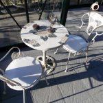 Sitzgruppe-Sunflower-weiss-Mosaik-Gartenmöbel-2
