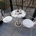 Sitzgruppe-Sunflower-weiss-Mosaik-Gartenmöbel-4