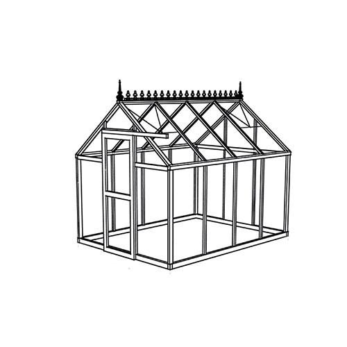 viktorianisches gew chshaus modell victorian junior 3. Black Bedroom Furniture Sets. Home Design Ideas