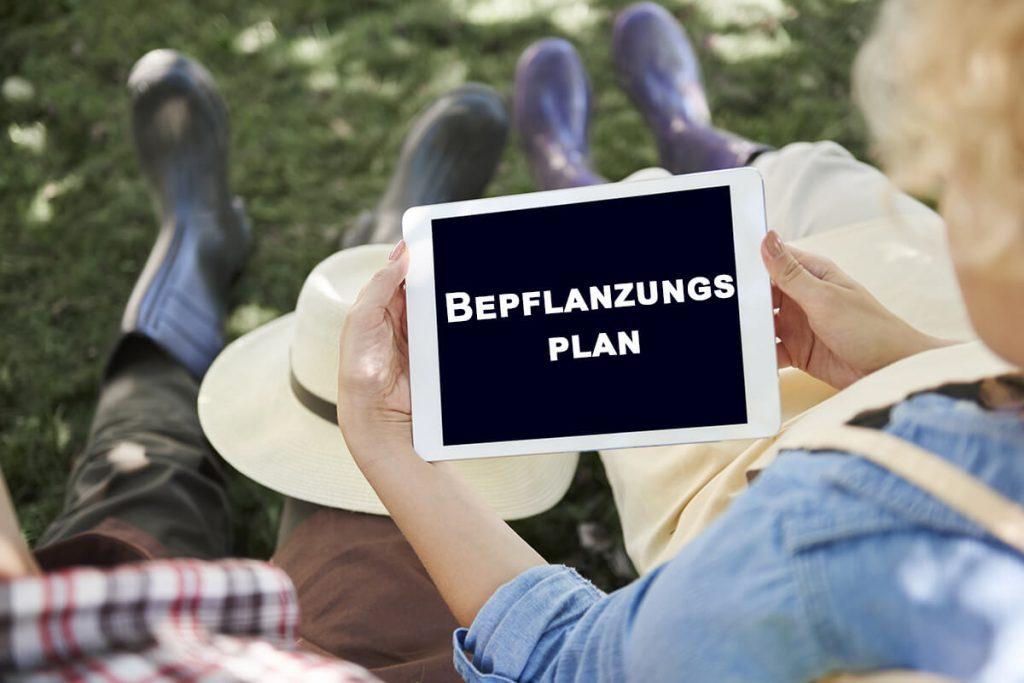 Bepflanzungsplan erstellen