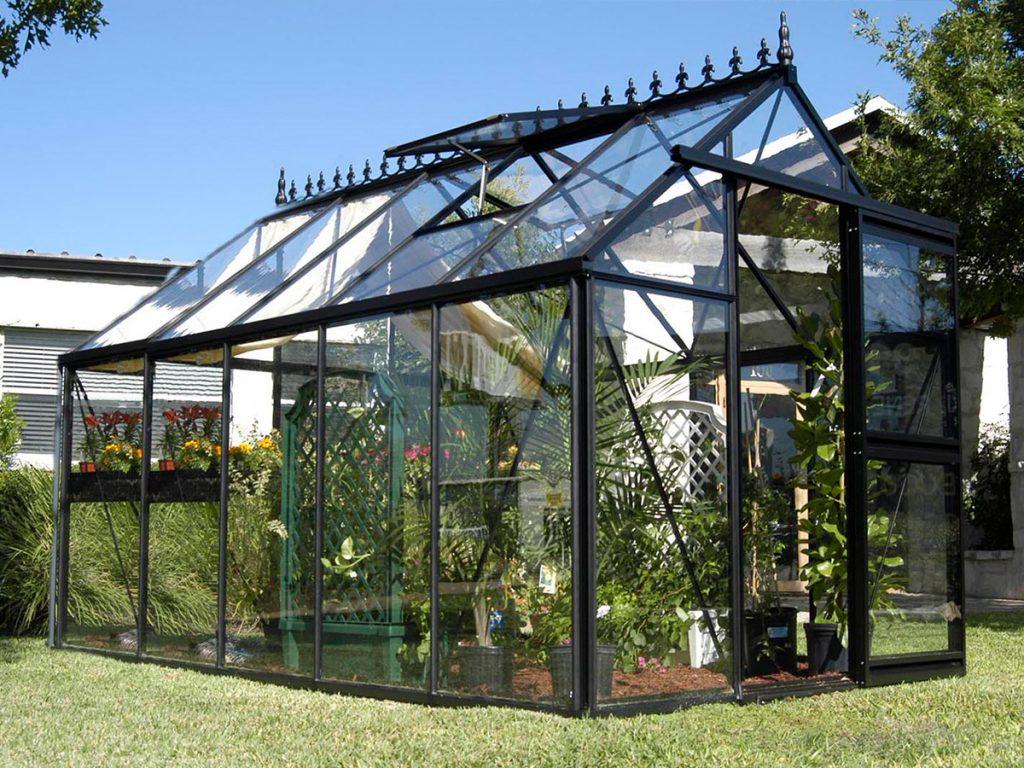 Victorian Gewächshaus aus Glas