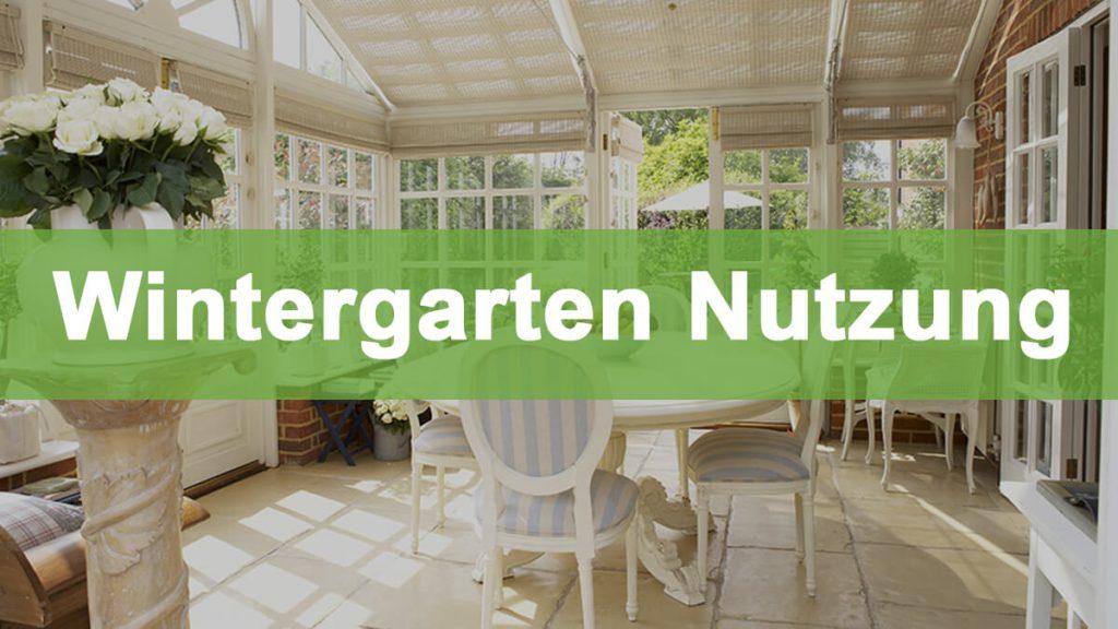 Gewachshauser Als Wintergarten Nutzen